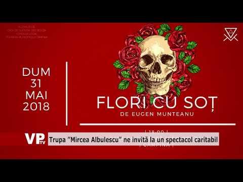 """Trupa """"Mircea Albulescu"""" ne invită la un spectacol caritabil"""