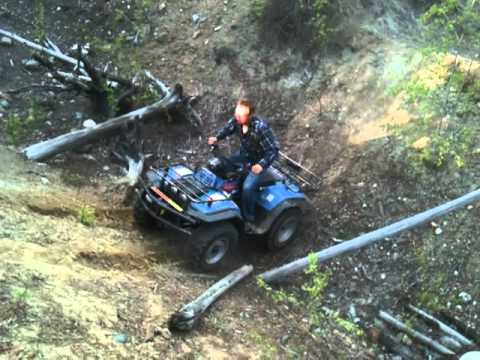 Idiot On Quad