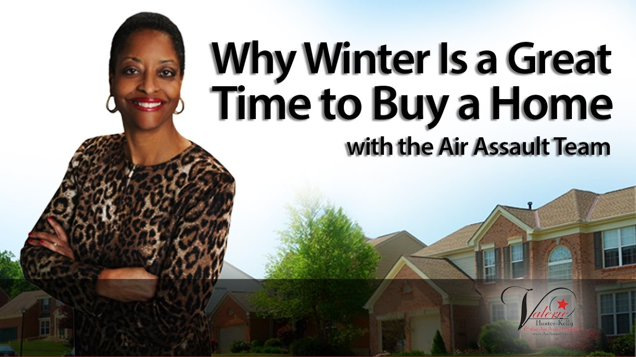Why You Should Buy Your Next Home This Winter