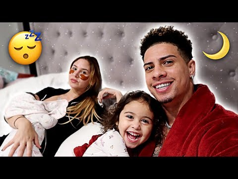 THE ACE FAMILY NIGHT TIME ROUTINE!!!