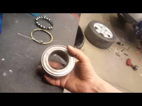 Mercedes ML500 ML350 Press in wheel bearings ABS ESP Problem