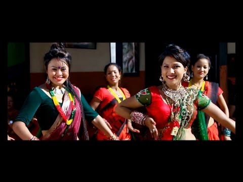 New Teej song 2071 Bajaideu Tali Tarara Full Hd by Anu Gurung & Sita Thapa