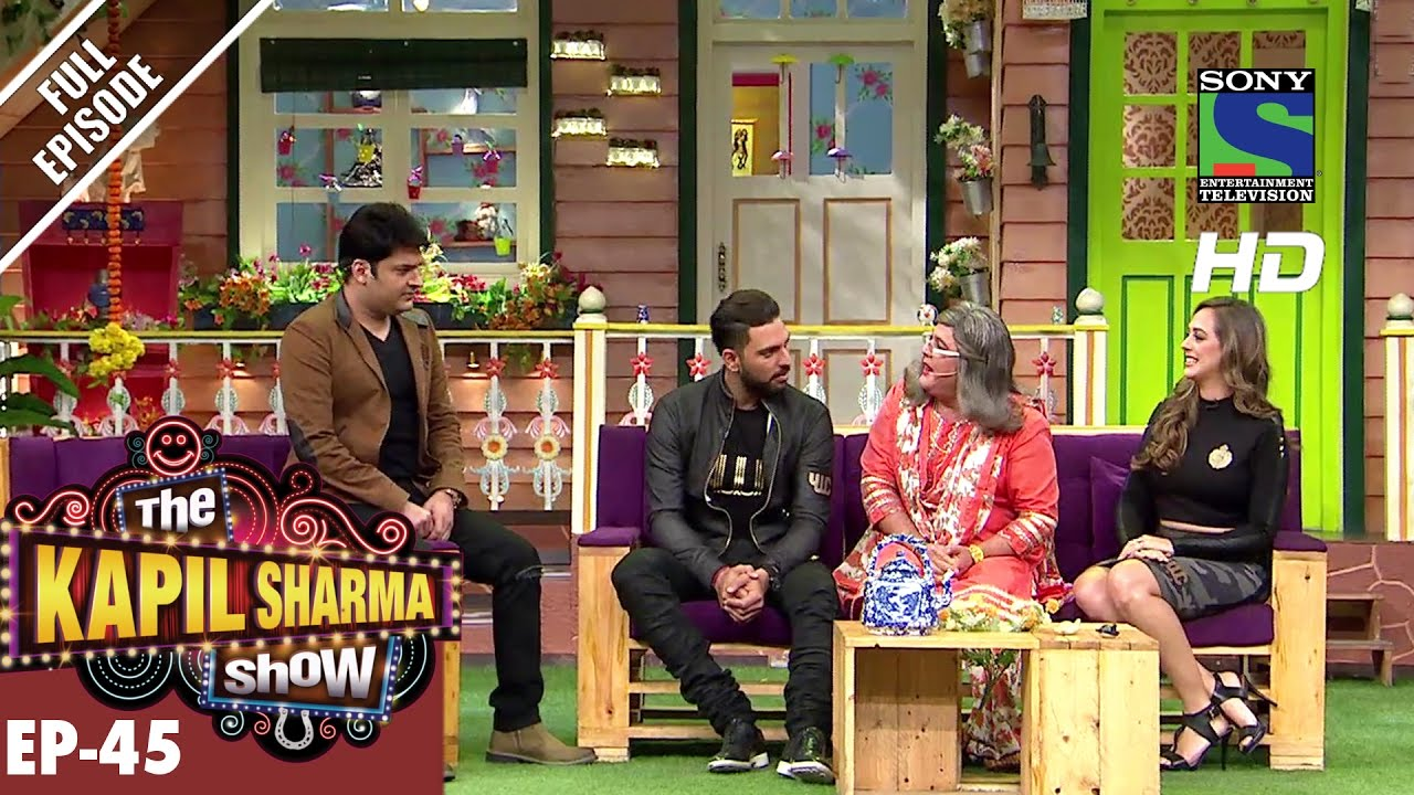 The Kapil Sharma Show -दी कपिल शर्मा शो-Ep-45-Yuvraj & Hazel in Kapil's Show–24th Sep 2016