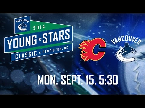 Canucks - The Vancouver Canucks take on the Calgary Flames in the last game of the Young Stars Tournament. If you want to keep up to date with all the latest news, highlights, features, and All-Access...