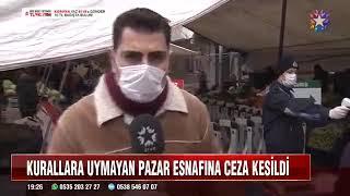 Zabıta Ekiplerimiz #koronavirüsüne Karşı Pazarlarda Denetimini Sürdürüyor - Star Tv