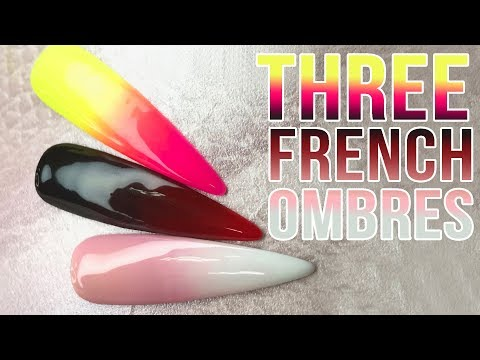 Gel nails - HOW TO OMBRE LIKE A PRO - Brand New Ombre Brush from NAIO