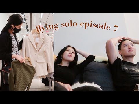 getting myself out of the apartment (it's fall in new york! 🍁) | flying solo episode 7