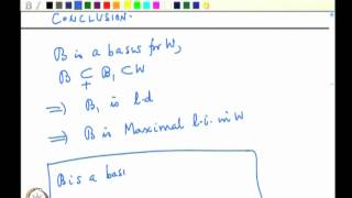 Mod-05 Lec-14 Basis Part 1