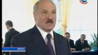 Лукашенко мочит путина и медведева !