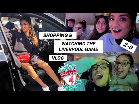 SHOPPING AGAIN & US REACTING TO LIVERPOOL Vs PORTO GAME | Kim Mann