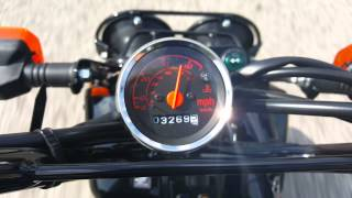 1. Stock 2014 Honda Ruckus top speed