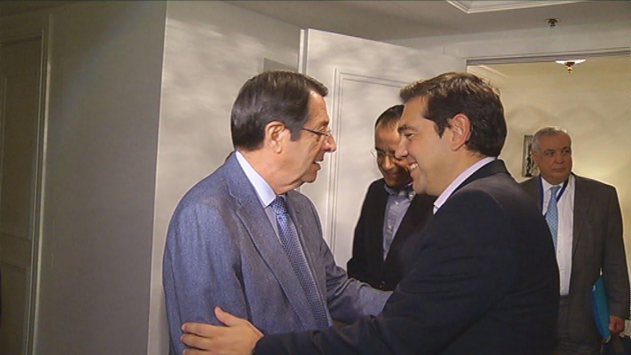 Συνάντηση A.Τσίπρα – N.Αναστασιάδη, στο περιθώριο του Ευρωπαϊκού Συμβουλίου