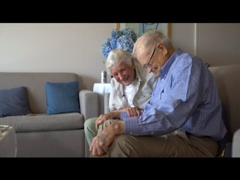 93-Year-Old WW II Vet Reunites with Girlfriend after 70 Years.