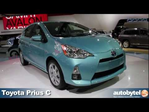 Toyota Prius C Hybrid Video at the 2012 Detroit Auto Show