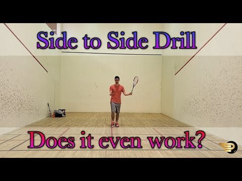 Squash - Side to Side - Does this drill even work?