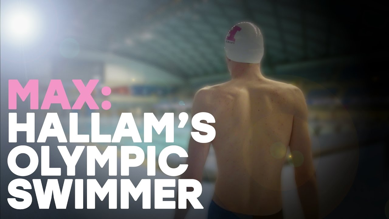 Max Litchfield, Olympic swimmer and Team Hallam member