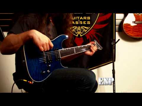 Rob Caggiano demos the ESP Horizon NT-II