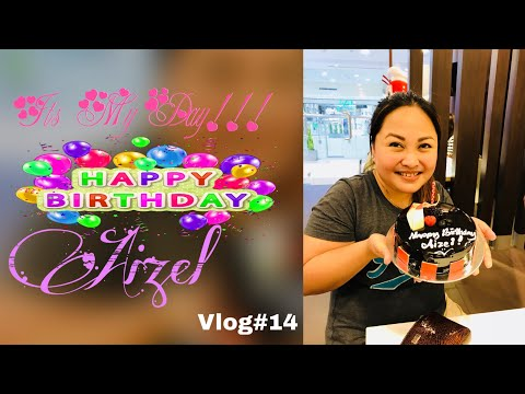 Happy Birthday Aiz Vlog # 14 (видео)