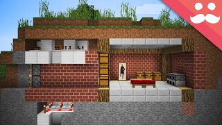 Video How to make a SECURE HIDDEN BASE in Minecraft! MP3, 3GP, MP4, WEBM, AVI, FLV Agustus 2018