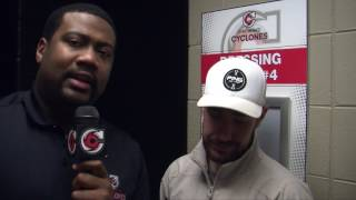 Cyclones TV: 2017 Locker Room Clean-out Interviews- Nick Huard