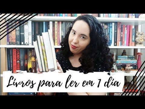Livros para ler em 1 dia | Um Livro e Só