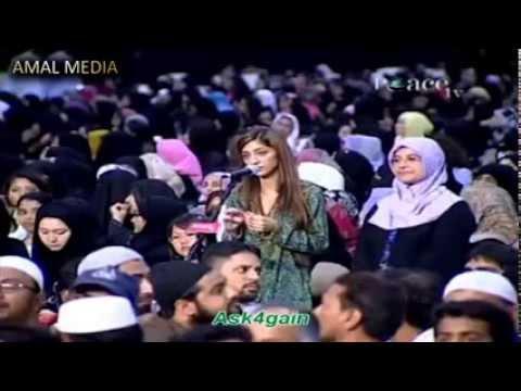Мусульмане больше христиане,очень интересное видео,супер,красиво отвеч. (видео)
