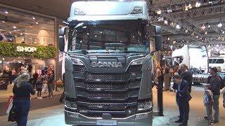 Video Scania S 650 A4x2 Tractor Truck (2019) Exterior and Interior MP3, 3GP, MP4, WEBM, AVI, FLV Juni 2019