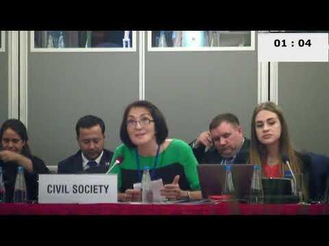 Смелая женщина рассказала правду о Казахстане на конференции ОБСЕ в Варшаве - DomaVideo.Ru