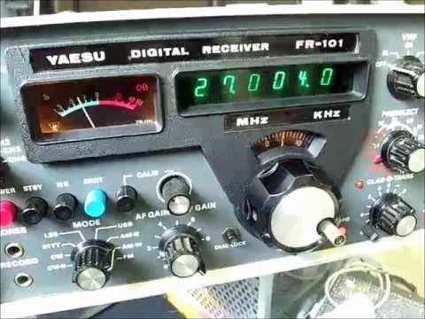 YAESU FR-101 Digital Receiver