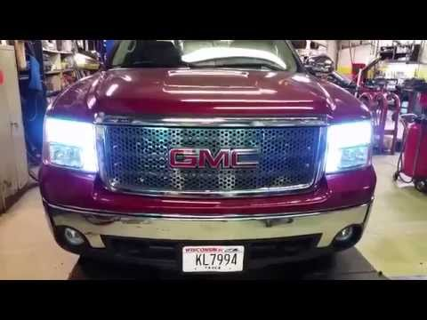 2007 - 2013 GMC Sierra LED Light Upgrade with Dual SMD Lights