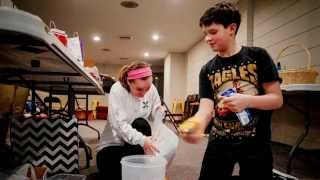 First Christian Youth Help the Homeless