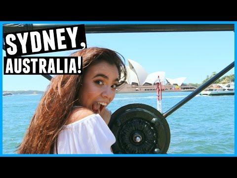 MY FIRST DAY IN SYDNEY, AUSTRALIA!!