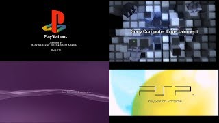 Every PlayStation Startup Screen (PS1, PS2, PS3, PS4, PSP, VITA) (4K 60FPS)