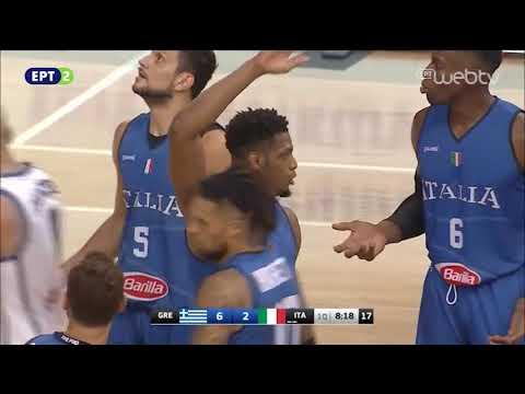 Τουρνουά Ακρόπολις: Ελλάδα – Ιταλία : 83-63 | ΟΛΟΚΛΗΡΟΣ ΑΓΩΝΑΣ | 16/08/2019 | ΕΡΤ