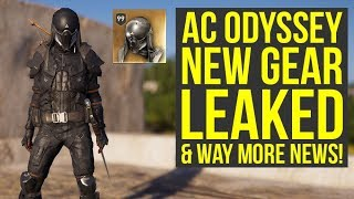 Assassin's Creed Odyssey DLC Abstergo Gear, Mount & More LEAKED + Way More News! (AC Odyssey DLC)