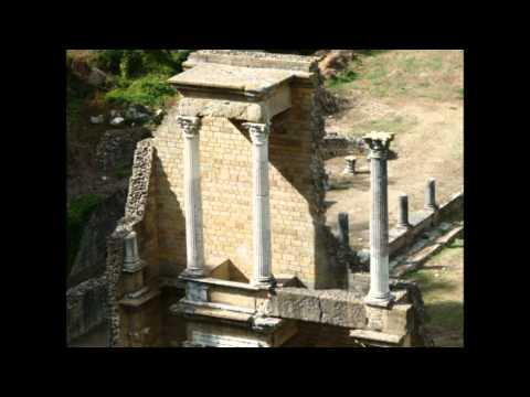 Italy Tuscany Volterra Roman amphitheater Italië Toscane Volterra Romeins amfitheater