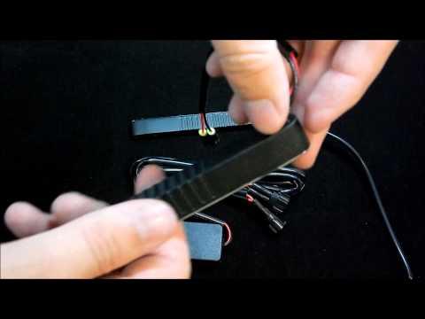 Дневные ходовые огни DIXEL 05 Day Light Guide Slim 12 24V К Т