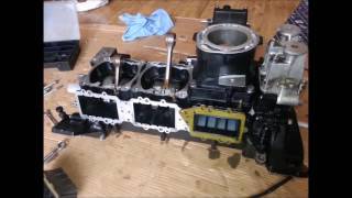 9. Rebuilding Engine of Yamaha 1200 XL WaveRunner Jet Ski