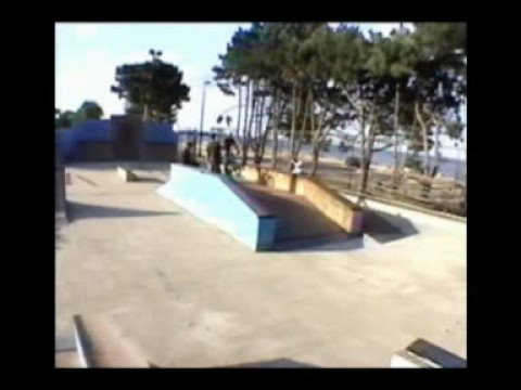 Mykel BMX trick riding