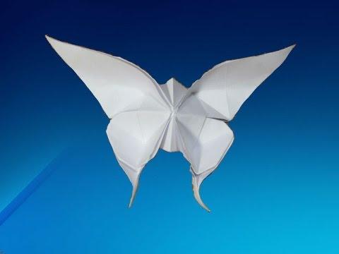Бабочки из бумаги красивые
