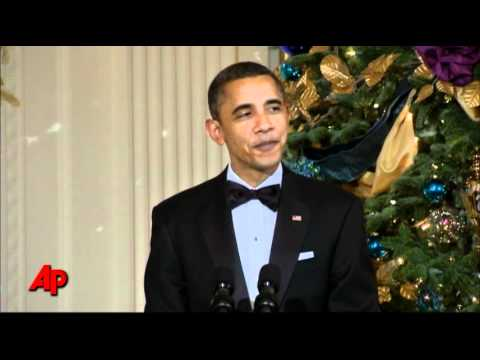 Obama: Kennedy Center Honorees Gave Gift of Arts
