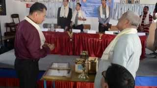 Joint Installation Ceremony of Rotaract Club of Patan West and Mahabouddha 2012