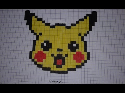 Comment Dessiner Pikachu En Pixel Art Speed Draw смотреть онлайн