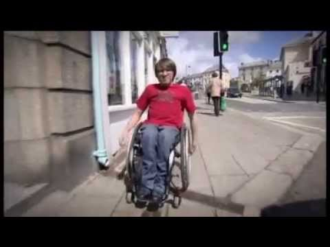 Cornish Fixer Tommy Gundry (21) who has been paralysed from a young age, is encouraging employers not to dismiss potential candidates because of a disability. His story was broadcast on ITV News West Country (W) in May 2014.