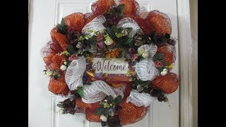 Video Carmen's 2019, Welcome Fall Vintage Wreath, Orange and fall colors MP3, 3GP, MP4, WEBM, AVI, FLV Juli 2019