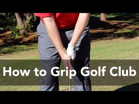 How to Grip a Golf Club | Golf Instruction | My Golf Tutor
