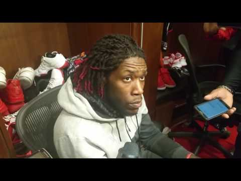 Montrezl Harrell after Rockets loss to Spurs