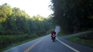 10. Son Geddy & I in the NC mountains FJR1300 & FZ6 2011.mp4