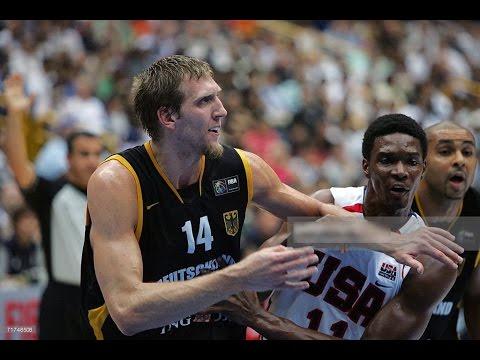 USA vs Germany 2006 FIBA Basketball World Championship ...