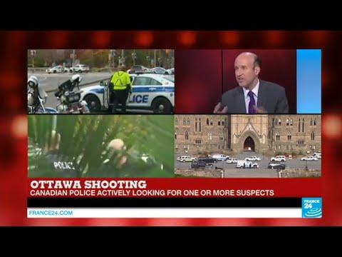 shooting - BREAKING - Ottawa shooting: one gunman shot dead inside Parliament.